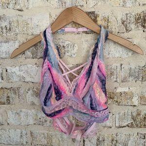 3/20 Pink Victoria's Secret ombré med bralette